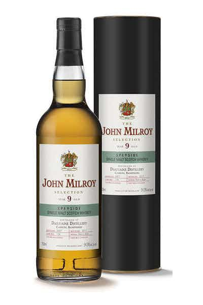 John Milroy Dailuaine Single Malt Scotch 9 Year