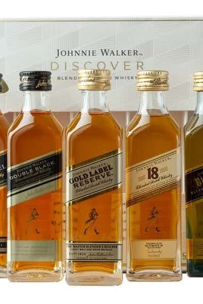 Johnnie Walker Blended Scotch Whisky Discovery Pack