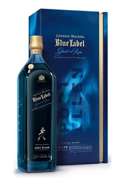 Johnnie Walker Blue Label Ghost & Rare Port Ellen
