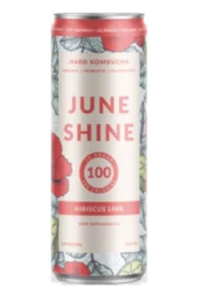 Juneshine Hard Kombucha Hibiscus Lime