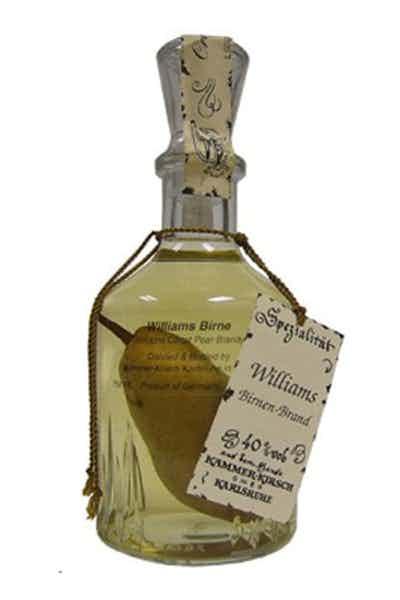 Kammer Brandy Williams Birne Pear In The Bottle