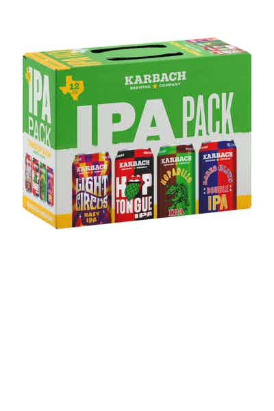 Karbach Brewing Co. IPA Variety Pack