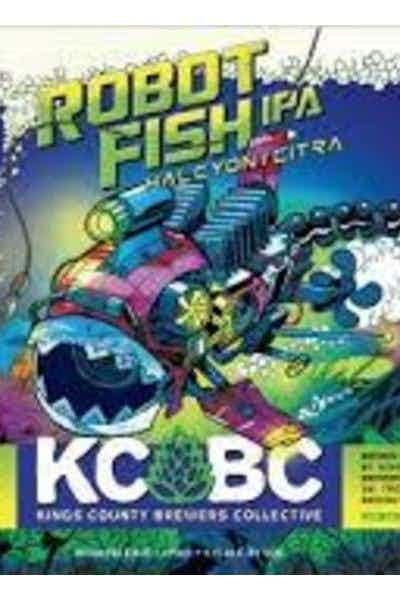 KCBC Robot Fish IPA