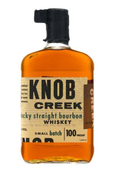 Knob Creek  Bourbon Whiskey with Flask