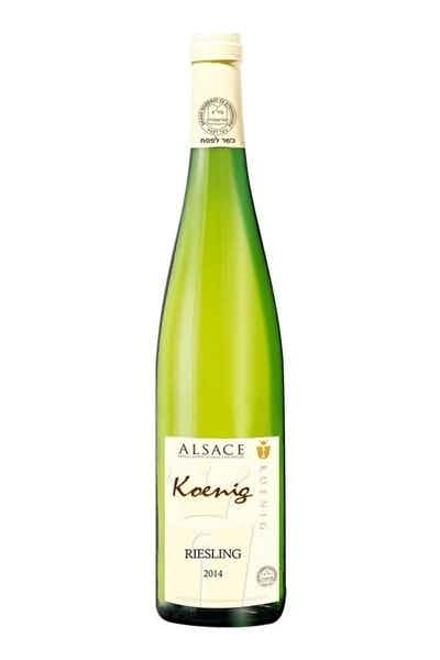 Koenig Alsace Kosher Riesling 2014