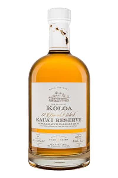Koloa Reserve 12-Barrel Select Aged Hawaiian Rum