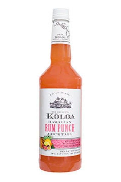Koloa Rum Punch Cocktail