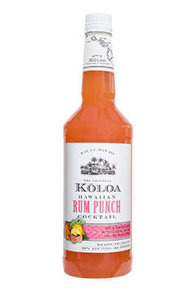 Koloa Rum Punch Cocktail