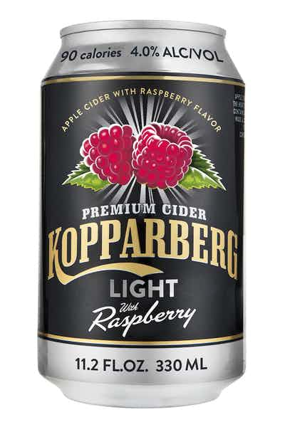 Kopparberg Light Raspberry Cider