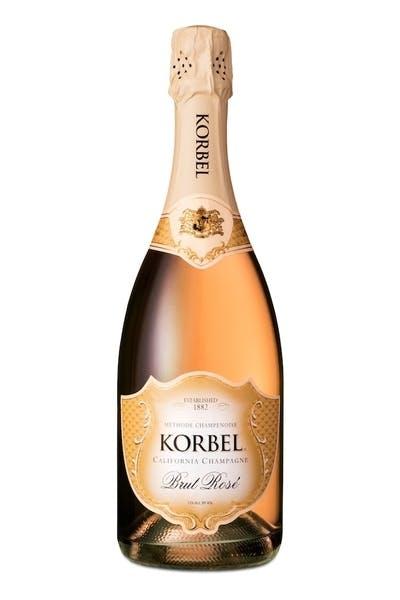Korbel Brut Rosé California Champagne