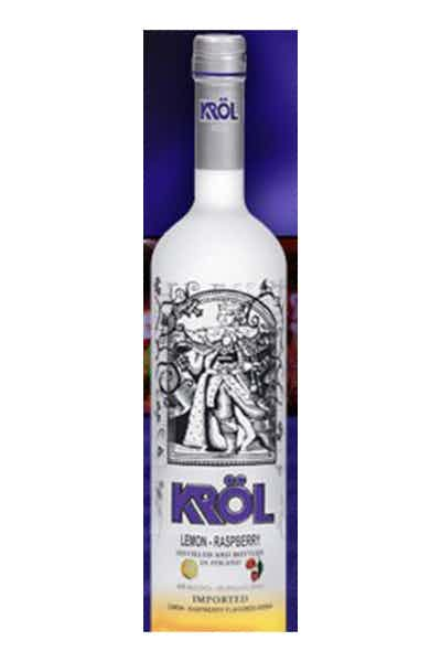 Krol Vodka Lemon Raspberry