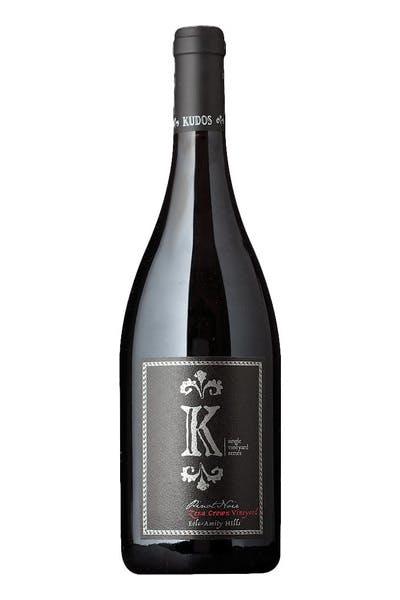 Kudos Pinot Noir Zena Crown Vineyard Eola Amity Hills