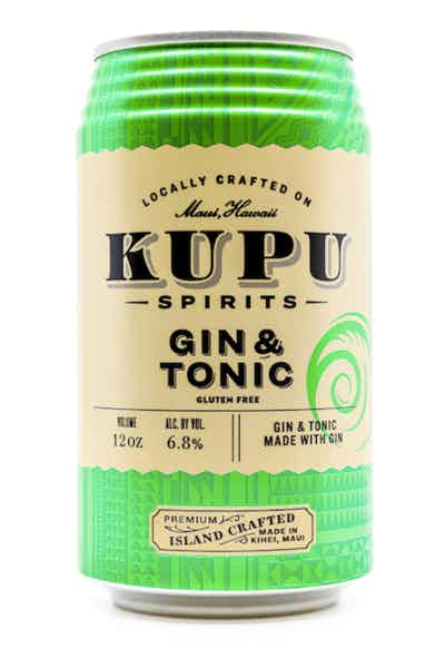 Kupu Spirits Gin & Tonic
