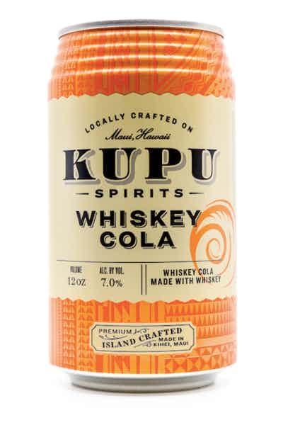 Kupu Spirits Whiskey Cola