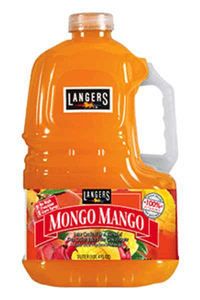 Langers Mongo Mango Juice Cocktail