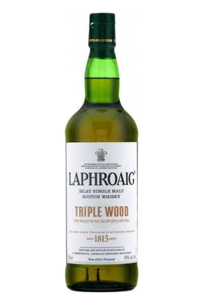 Laphroaig Triple Wood Islay Single Malt Whiskey