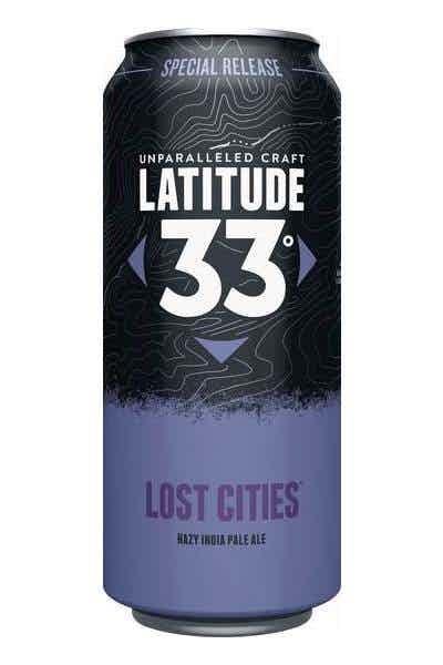 Latitude 33 Lost Cities Hazy IPA
