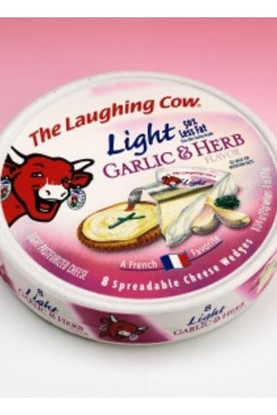 Laughing Cow Garlic/Herb