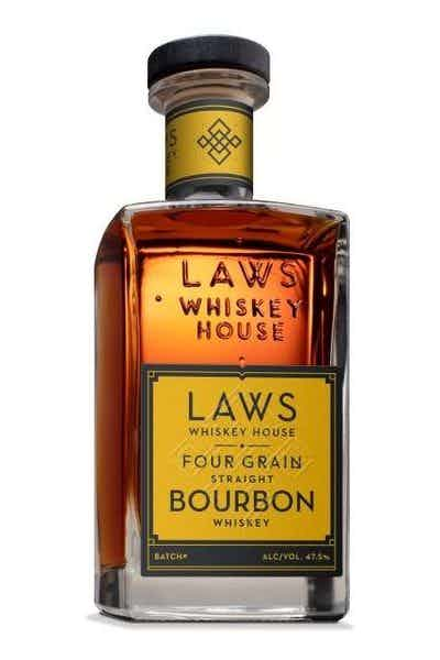 Laws Four Grain Bourbon