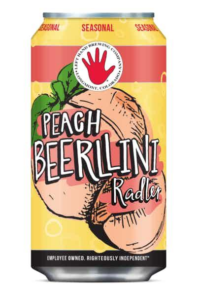 Left Hand Peach Beerllini Radler