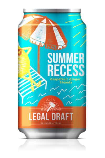 Legal Draft Summer Recess