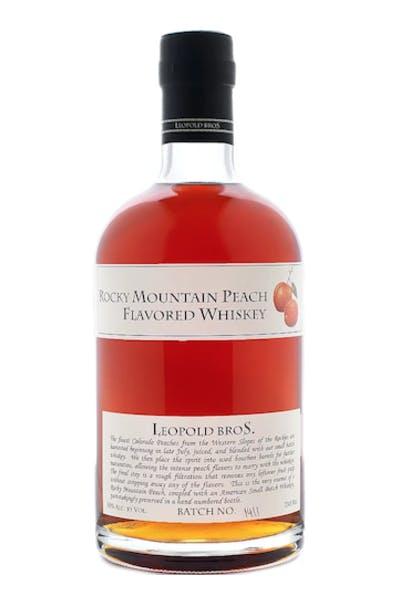 Leopold Bros Rocky Mountain Peach Whiskey