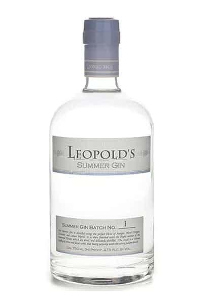 Leopold Bros Summer Gin