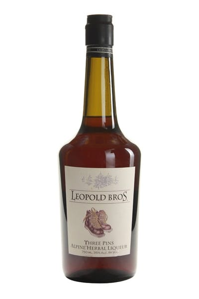 Leopold Bros Three Pins Alpine Herbal Liqueur