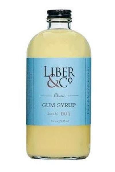 Liber & Co. Classic Gum Syrup
