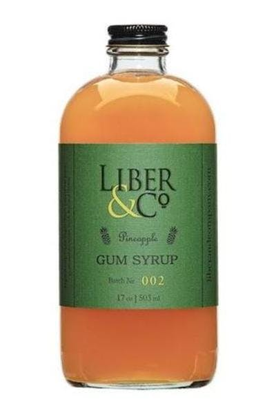 Liber & Co. Pineapple Gum Syrup