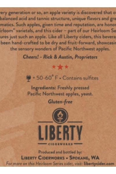 Liberty Ciderwork Heirloom