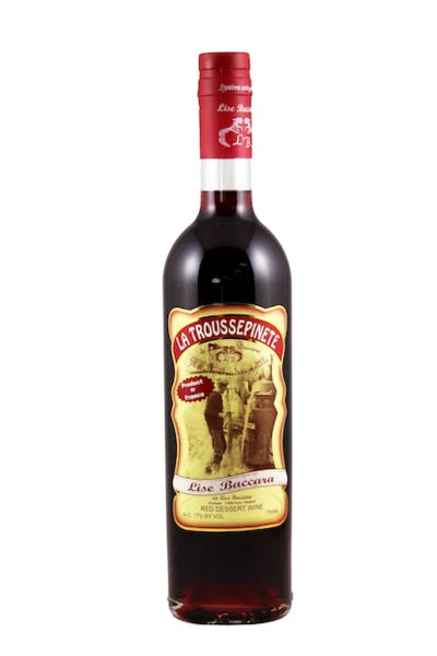 Lise Baccara La Troussepinete Red Dessert Wine