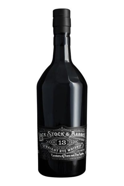 Lock Stock & Barrel 13 Year Rye