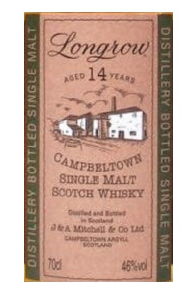 Longrow 14 Year Old Scotch Whisky