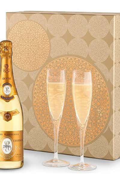 Louis Roederer Cristal Gift Flutes
