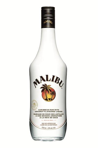 Malibu Rum Orange Float