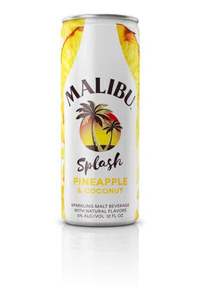 Malibu Splash Pineapple & Coconut Sparkling Malt Beverage