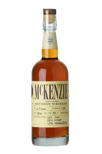 McKenzie Single Barrel Cask Strength Wheated Bourbon Whiskey
