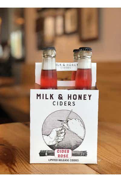Milk and Honey Rose Cider
