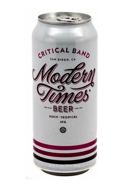 Modern Times Critical Band IPA