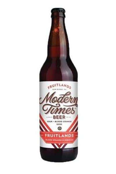 Modern Times Fruitlands Blood Orange Gose