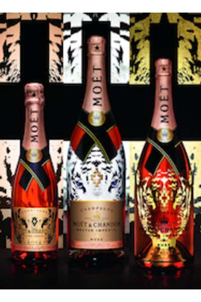 Moet & Chandon Nectar Imperial Rose Marcelo Burlon Limited Edition Tiger