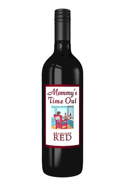 Mommys Time Out Delicious Red