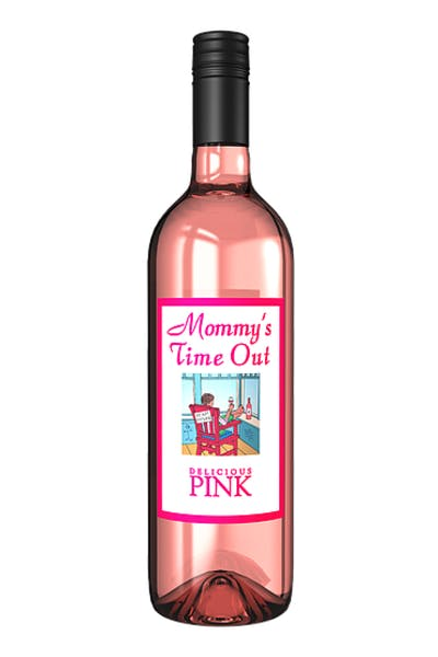 Mommy's Time Out Pink Moscato