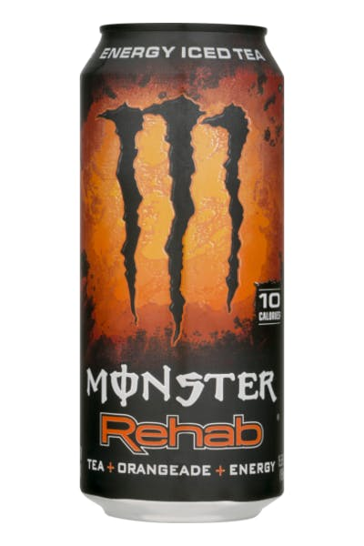 Monster Rehab Energy Iced Tea Orangeade