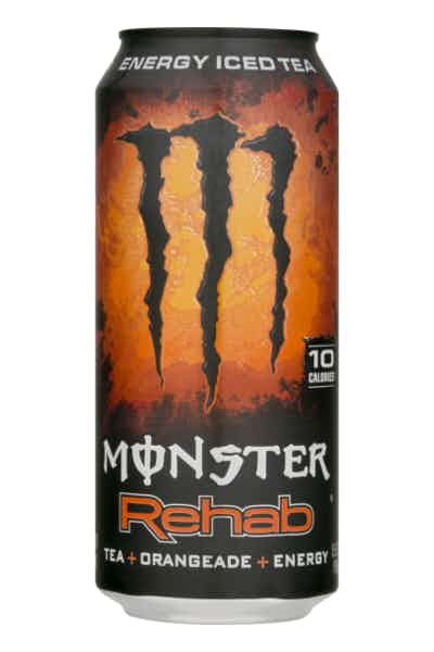 Monster Rehab Energy Iced Tea Orangeade