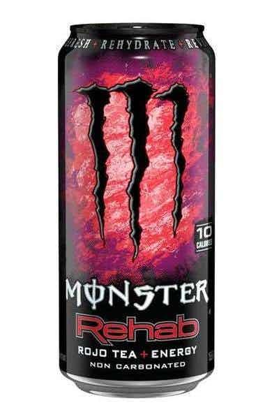 Monster Rehab Rojo Tea