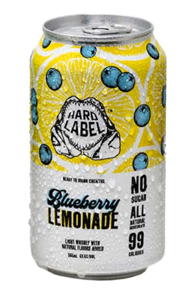 Montauk Hard Label Blueberry Lemonade Whiskey Soda