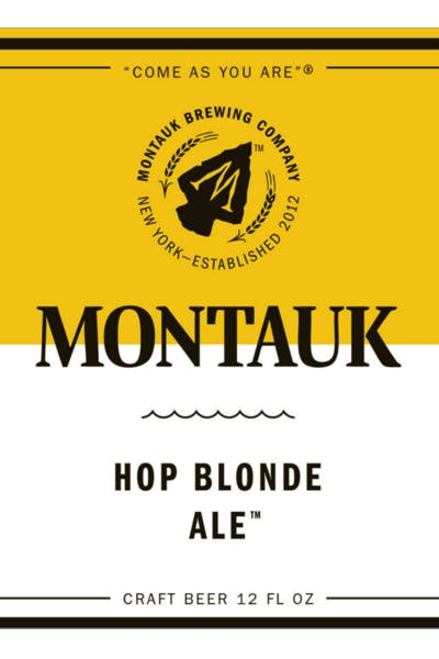 Montauk Hop Blonde Ale