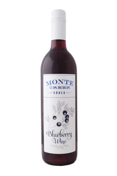 Monte Creek Blueberry Wine